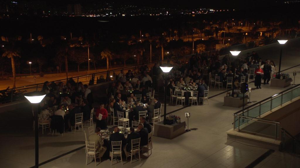 Cena en evento Ford en Hotel Grand Luxor